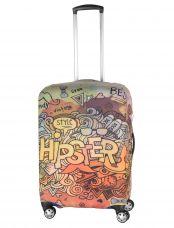Чехол для чемодана средний Pilgrim LCS405 M Hipster