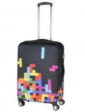 Чехол для чемодана средний Pilgrim LCS332 M Tetris