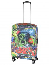 Чехол для чемодана средний Pilgrim LCS403 M Graffitti
