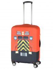 Чехол для чемодана средний Pilgrim LCS410 M Red Train