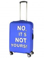 Чехол для чемодана средний Pilgrim LCS030 M It`s Not Yours