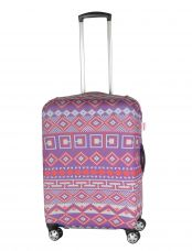 Чехол для чемодана большой Pilgrim LCS377 L Purple Pattern