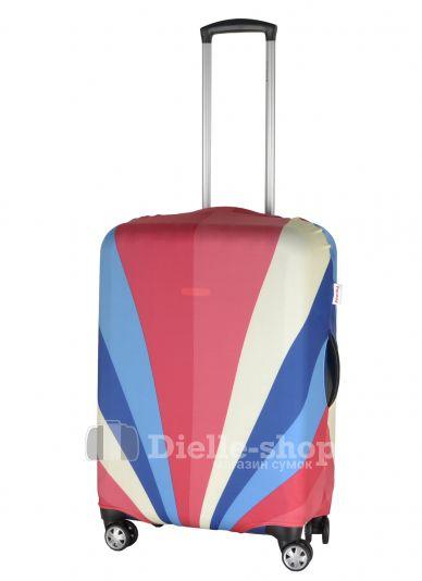 Чехол для чемодана средний Pilgrim LCS417 M Cosmo Colors-RED