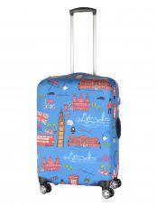 Чехол для чемодана средний Pilgrim LCS352 M London