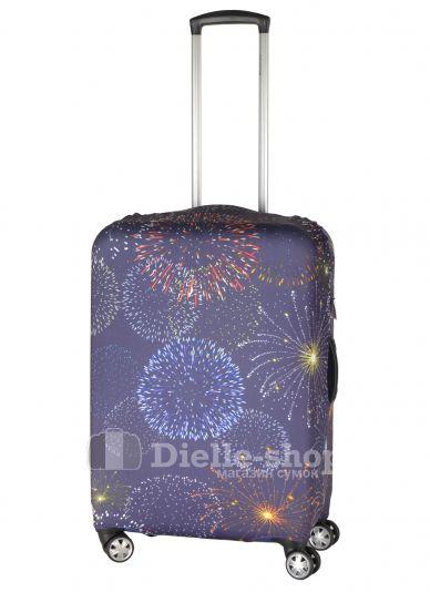 Чехол для чемодана средний Pilgrim LCS386 M Fireworks