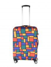 Чехол для чемодана средний Pilgrim LCS347 M Rectangles