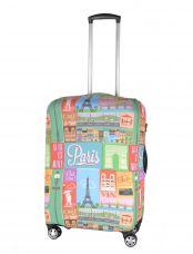 Чехол для чемодана средний Pilgrim LCS391 M Paris
