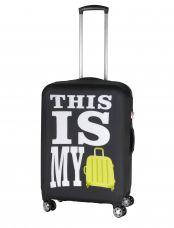 Чехол для чемодана средний Eberhart LCS220 M This Is My Bag
